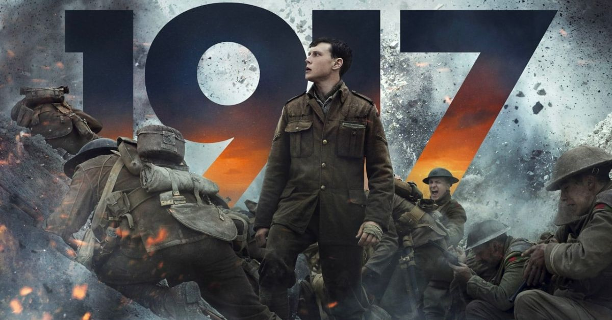 Is that Fortnite? No, it's 1917. Experience real trench warfare with Sam Mendes